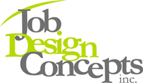 Job Design Concepts Inc. Sticky Logo